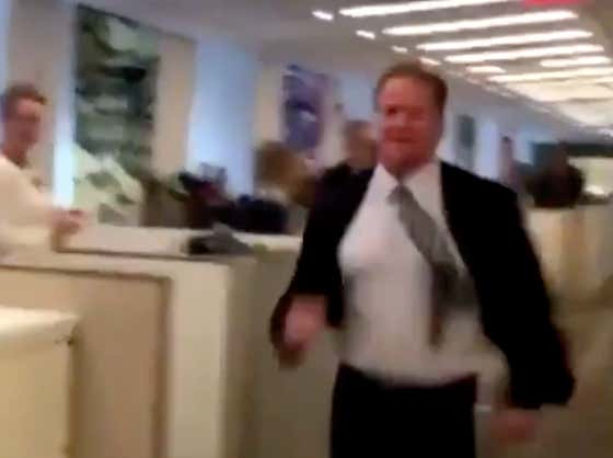 Live Look At Goodell When He Found Out Who Was Coming Over To His House.
