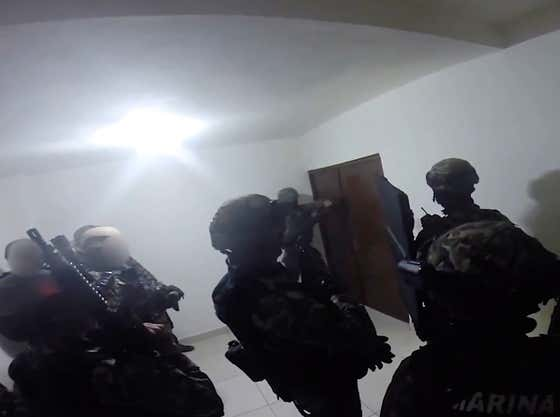 Prosecutors Release Video Of Mexican Marines Raiding El Chapo's Compound