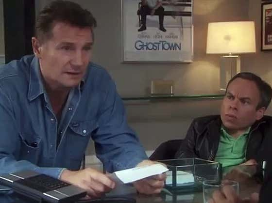 """Wake Up With Liam Neeson In """"Life's Too Short"""""""