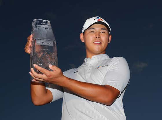 3 years ago today, Kim Si-Woo (+40000) shoots a final round of 69 to win the PGA Players Championship at TPC Sawgrass.
