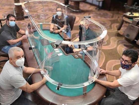 This Updated Poker Table Solves Absolutely Nothing. Nothing At All. Deal Me In.
