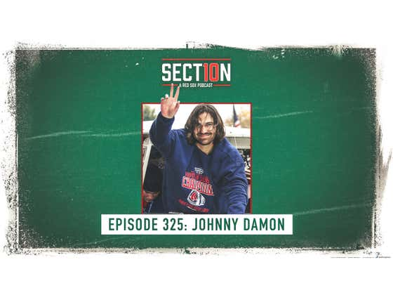 Section 10 Podcast Ep. 325: Johnny Damon