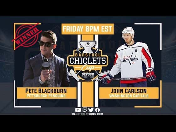 Pete Blackburn Advances To The 2nd Round Of The Chiclets Cup After A Dominating Performance Over John Carlson