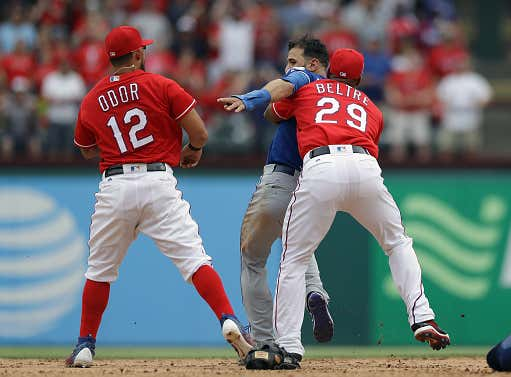 Four Years Ago Today, Rougned Odor Cleaned Jose Bautista's Clock