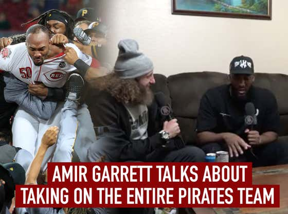 Amir Garrett Talks About Taking On The Entire Pirates Team With Starting 9