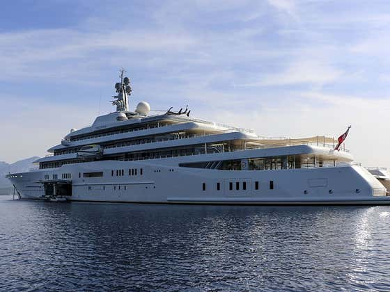 What's The Coolest Thing You Can Buy? How About a Billion Dollar Yacht That Has a Missile Defense System With a Submarine Attached?