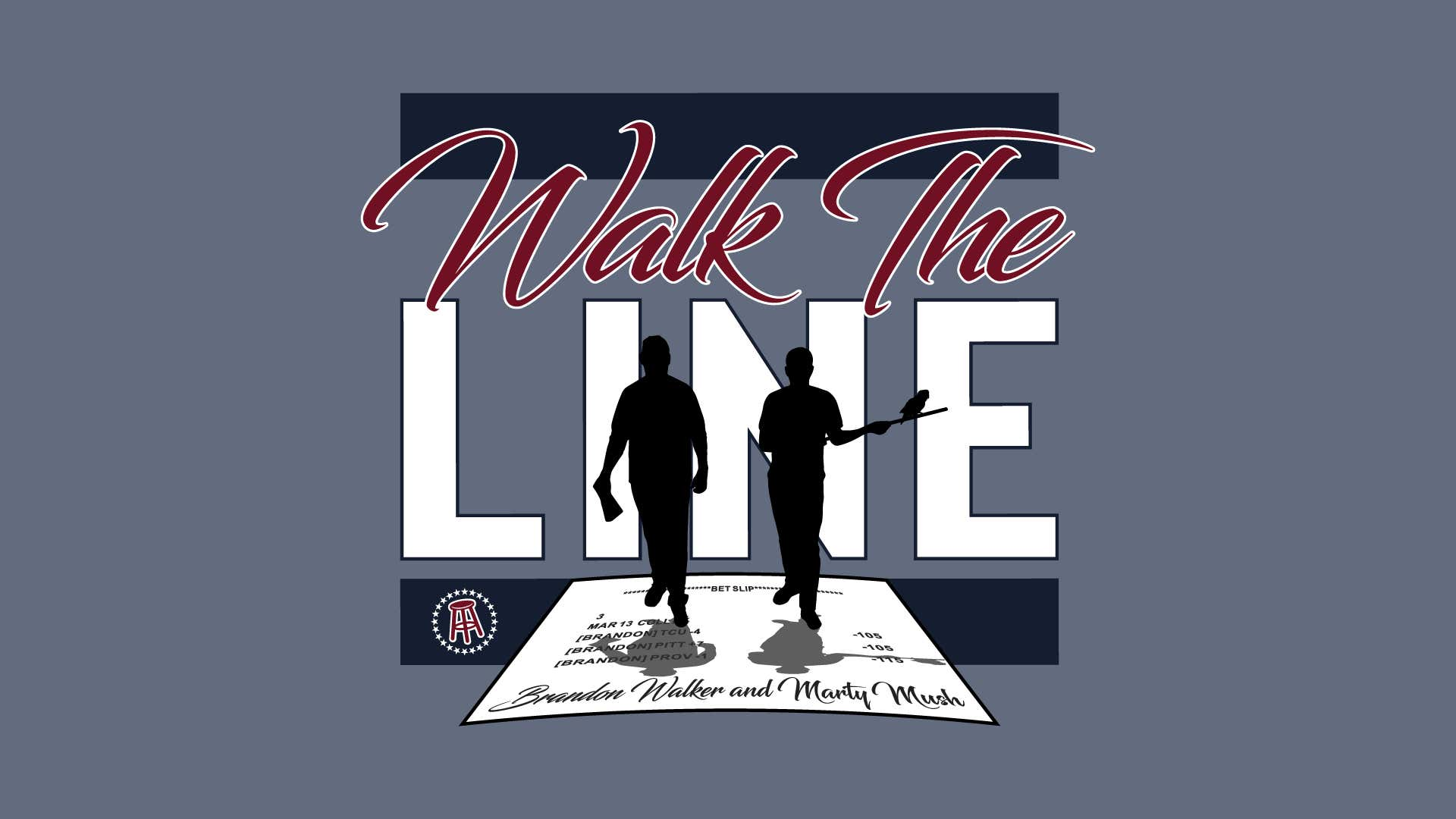 Today's @walktheline the return of @bwalkersec presented by @nascar