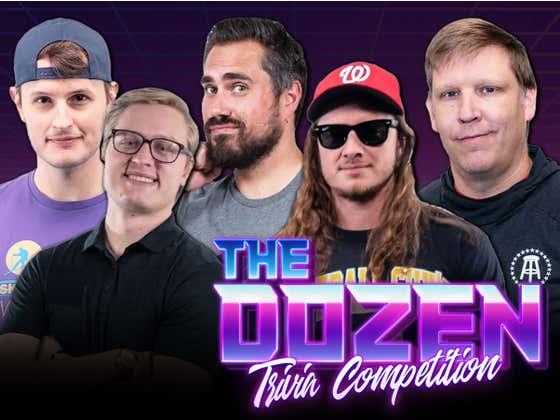 Pardon My Take Trivia Showdown As Big Cat, Rone & Joey Take On PFT & Brandon Walker (The Dozen: Episode 007)