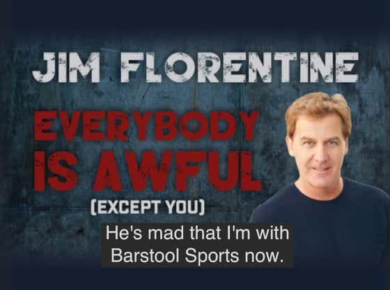 Jim Florentine Addresses A Fan That Is Mad