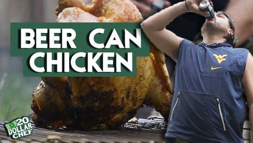 20 Dollar Chef - Labatt Blue Beer Can Chicken