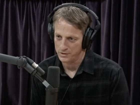 Joe Rogan Just Dropped His First Ever Interview With The Legendary Tony Hawk