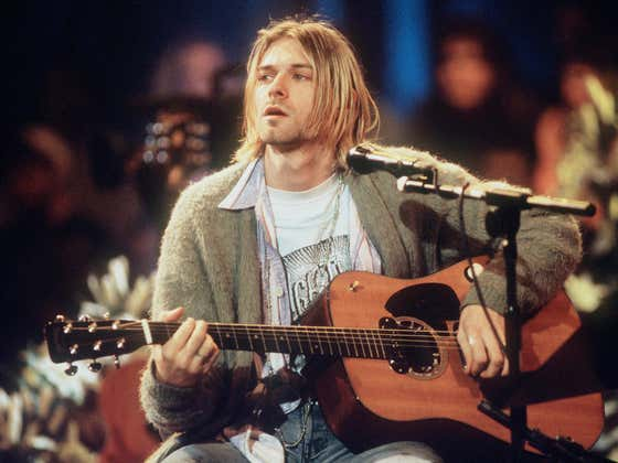 Kurt Cobain's Guitar From Nirvana's Unplugged Show Could Go For $1 Million At Auction. BONUS - MTV's Best Unplugged Shows Ranked