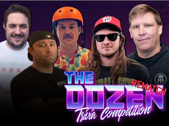 Bad Blood And Accusations Spill Over Into PFT & Brandon's Trivia Rematch With Barstool Chicago (The Dozen: Episode 010)