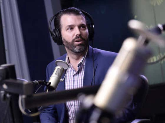 """Donald Trump, Jr. to Portnoy: """"China is like Suitman"""""""