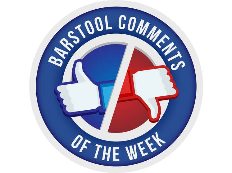 Barstool Comments Of The Week - Episode 4