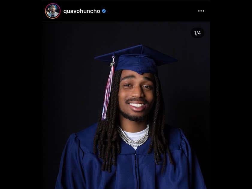 Quavo Huncho Graduates High School During The Quarantine And Migos Drop New Music To Celebrate