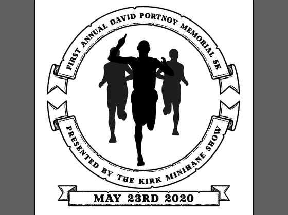 WATCH: Dave Portnoy Memorial 5k - Kirk Minihane Show