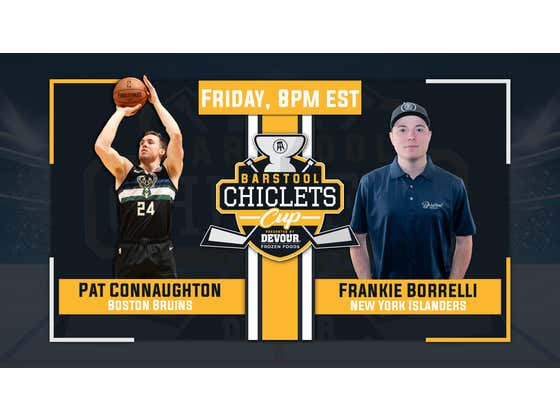It's Frankie Borrelli vs Pat Connaughton In The Chiclets Cup Tonight Presented By DEVOUR Starting At 8pm