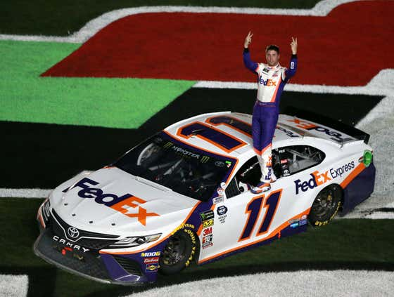Don't You Dare Give Denny Hamlin the Middle Finger While on the Racetrack