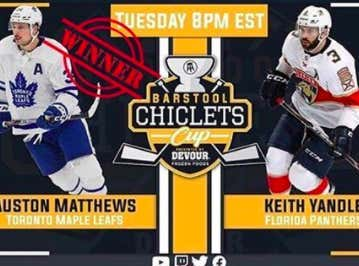 Auston Matthews Advances To The Second Round Of The Chiclets Cup Presented By DEVOUR After A Clean 2-0 Sweep Of Keith Yandle