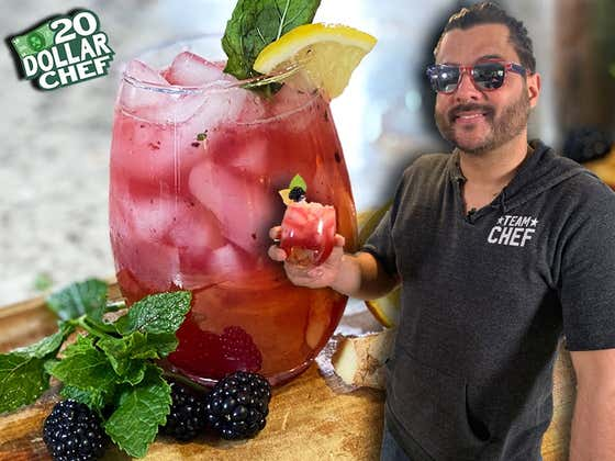 20 Dollar Chef - Electric Blackberry Lemonade