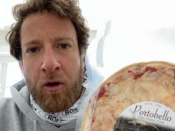 Barstool Frozen Pizza Review - Portobello Pizza Presented By NASCAR