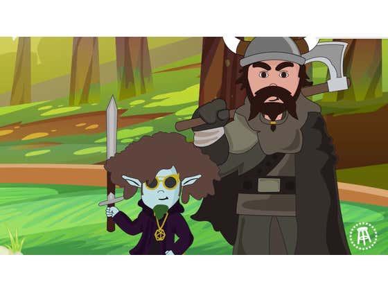 ANIMATED - Pardon My Take Plays Dungeons & Dragons Episode 1