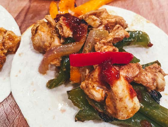 Chicken Fajitas   The Quarantine Cook