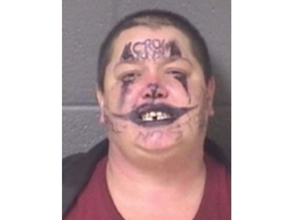 Here's Your Newest Inductee Into The Mugshot Hall Of Fame