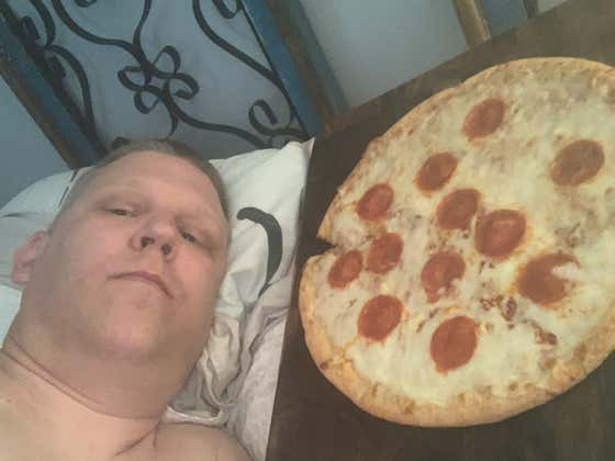 MEET THE MAN FIGHTING HIS LOCAL GOVERNMENT FOR THE RIGHT TO MARRY A FULLY BAKED RED BARON PEPPERONI PIZZA