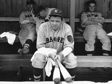 Example 23,987,475 Of Baseball Being Dumb As Hell: Babe Ruth Actually Hit 715 Home Runs