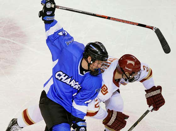 The University Of Alabama - Huntsville Hockey Team Isn't Going Anywhere