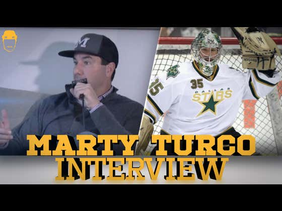 Spittin' Chiclets Interviews Marty Turco - Full Video Interview