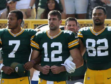Maybe Drew Brees Should Take A Cue From Aaron Rodgers And Listen