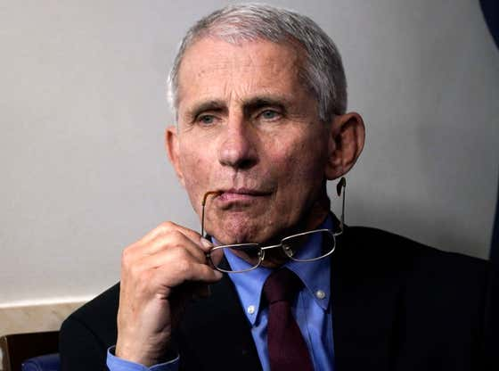 Good News, Bad News: Dr. Anthony Fauci Finished 2nd In A Horse Race At Belmont But Was Beaten By A Prisoner