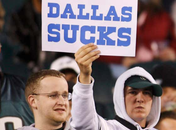 Proof That Philly Fans Hate The Cowboys More Than Anything Else On This Planet
