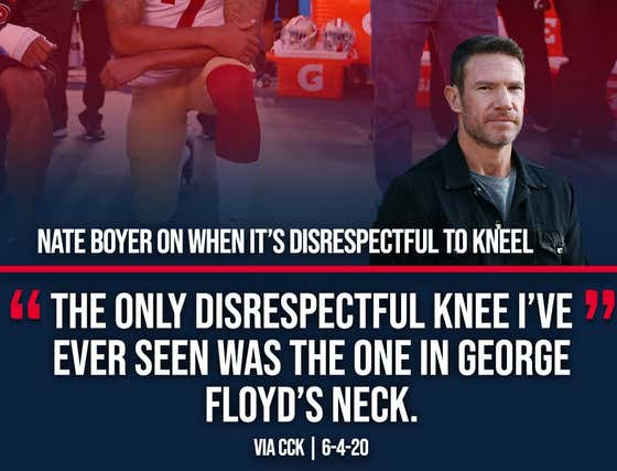 LISTEN: Green Beret Nate Boyer On Barstool Radio Discussing Drew Brees' Comments And Colin Kaepernick Kneeling For The Anthem