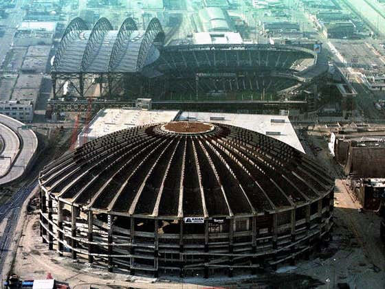 Wake Up With The Implosion Of The Kingdome In Seattle