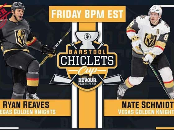 Ryan Reaves Wins The Battle Of Las Vegas Tonight With A Clean 2-0 Sweep Of Nate Schmidt In The Chiclets Cup Presented By DEVOUR