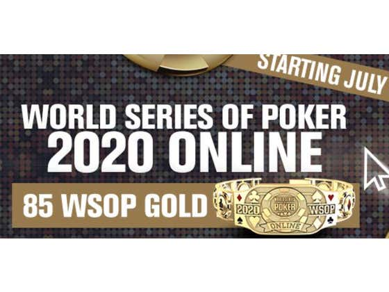 The WSOP Will Be Awarding 85 Online Bracelets To Players All Around The World...And Nevada and New Jersey In The United States