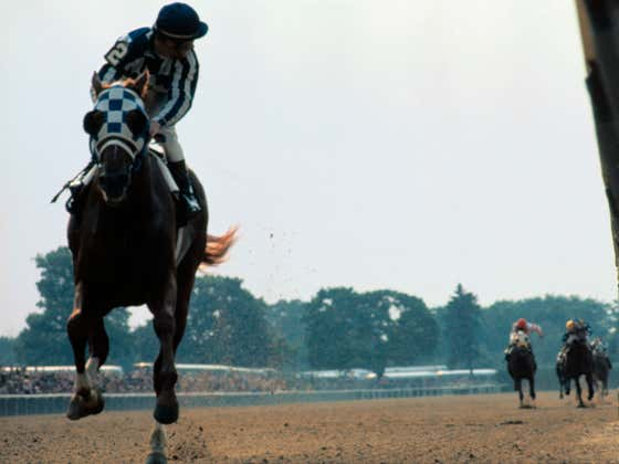 47 years ago today, Secretariat wins the 105th Belmont Stakes by 31 lengths and becomes the first triple crown winner in 25 years.