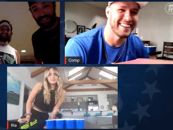 #BarstoolBeerPong Full Tuesday Replays - Ria vs. Will Compton, PFT vs. Taylor Lewan