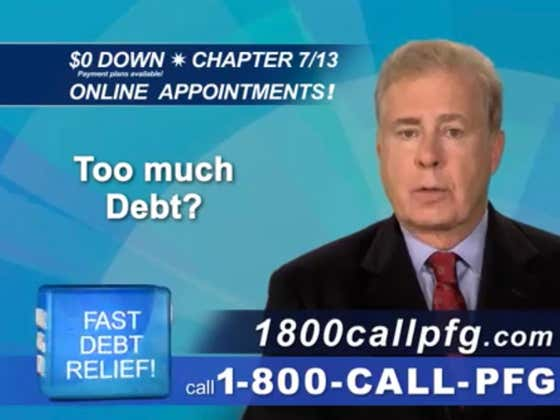 Turns Out Peter Francis Geraci is Not Dead