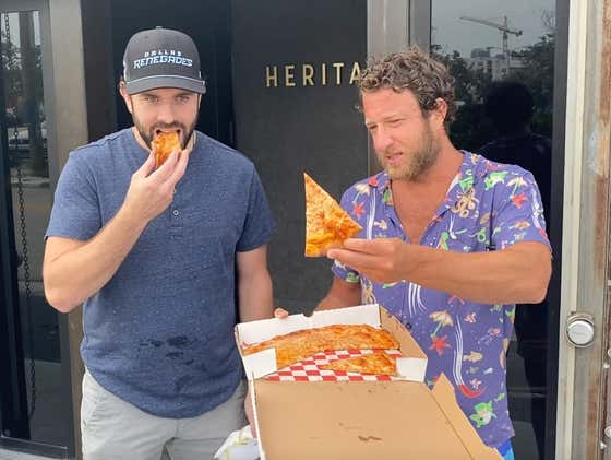 Barstool Pizza Review - Heritage Pizza (Ft. Lauderdale) With Special Guest Keith Yandle