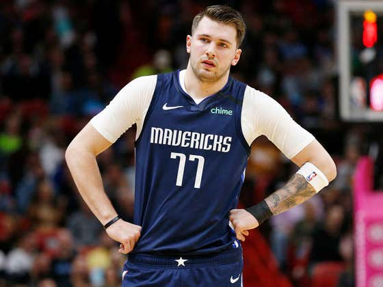 Luka Doncic Apparently Got Fat As Shit During Quarantine