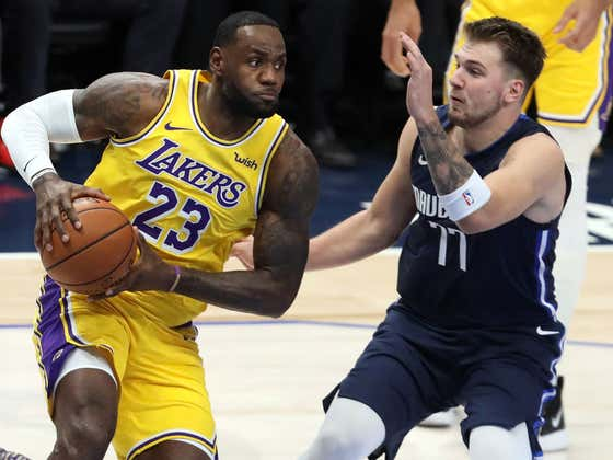 Wake Up With An Epic Duel Between LeBron And Luka