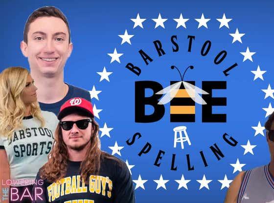 Barstool Spelling Bee: Lowering The Bar
