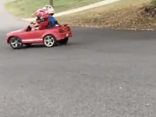 The Fast And The Furious: Kindergarten Drift