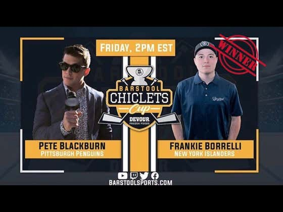 WE'RE GOING TO BORRELLI'S: Frankie Borrelli Advances Once Again After Beating Pete Blackburn In The Chiclets Cup Presented By DEVOUR