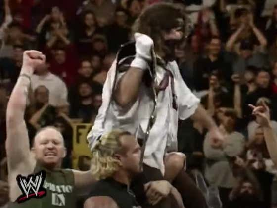 WWF Fridays: Mankind Wins The WWF Championship For The First Time